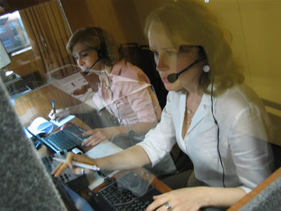 Simultaneous interpreting